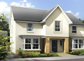 "Thumbnail 6 bed detached house for sale in ""Langholm"" at Merchiston Oval, Brookfield, Johnstone"