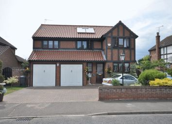 Thumbnail 4 bed detached house for sale in Oakwood Avenue, West Mersea, Colchester