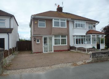 Thumbnail 3 bed semi-detached house to rent in Cortsway, Greasby, Wirral