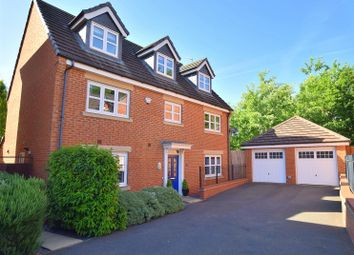 Thumbnail 5 bed detached house for sale in Highfields Park Drive, Darley Abbey, Derby