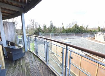 Thumbnail 1 bedroom flat for sale in Woodpecker Drive, Greenhithe
