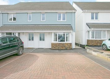 Thumbnail 3 bed semi-detached house for sale in Copper Meadows, Gwinear, Hayle, Cornwall