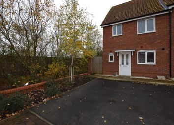 Thumbnail 3 bedroom end terrace house to rent in Crocus Close, Eynesbury, St. Neots