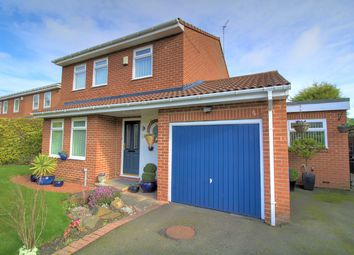 Thumbnail 3 bed detached house for sale in Claverley Drive, Backworth, Newcastle Upon Tyne