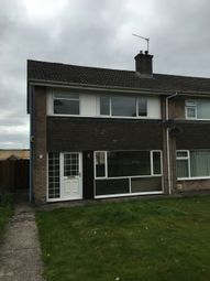Thumbnail 3 bed semi-detached house to rent in Goldfinch Close, Caldicot