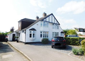 Thumbnail 3 bed semi-detached house for sale in Theobalds Road, Cuffley, Potters Bar