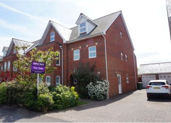 Thumbnail 3 bed town house for sale in Bellemoor Road, Upper Shirley, Southampton