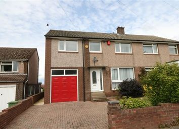 Thumbnail 4 bed semi-detached house for sale in High Meadow, Carlisle, Cumbria