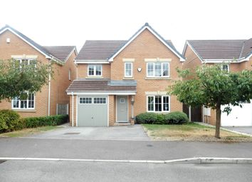 Thumbnail 4 bed detached house for sale in Samian Close, Worksop
