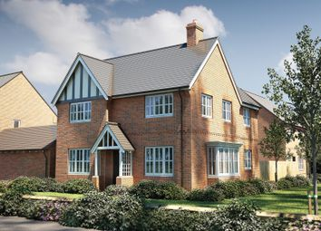 "Thumbnail 4 bed detached house for sale in ""The Astley"" at Winchester Road, Fair Oak, Eastleigh"