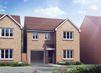 "Thumbnail 4 bed detached house for sale in ""The Downing "" at Princess Gardens, Grove, Wantage"