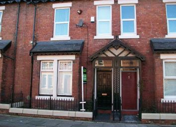 Thumbnail 4 bed terraced house to rent in Croydon Road, Fenham, Newcastle Upon Tyne