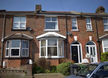 Thumbnail 3 bed terraced house for sale in Burry Road, St Leonards-On-Sea, East Sussex