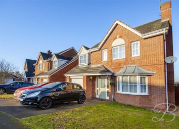 4 bed detached house for sale in Halstead Close, Forest Town, Mansfield NG19