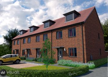 Thumbnail 3 bedroom end terrace house for sale in Cranbrook, Exeter, Devon