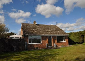 Thumbnail 3 bed detached bungalow for sale in Creeting Bottoms, Creeting St. Mary, Ipswich