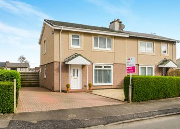 Thumbnail 3 bedroom semi-detached house for sale in Leslie Crescent, Ayr