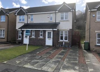 Thumbnail 2 bed semi-detached house for sale in Bowhouse Drive, Glasgow, Lanarkshire