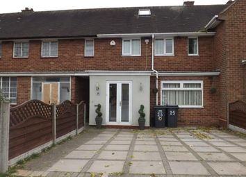 Thumbnail 3 bed terraced house for sale in Freasley Road, Shard End, Birmingham, West Midlands