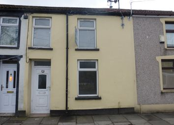 Thumbnail 2 bed terraced house to rent in Wellington Street, Aberdare