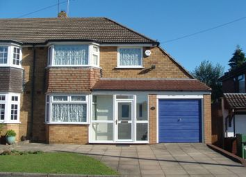 Thumbnail 3 bed semi-detached house for sale in Waseley Road, Rubery