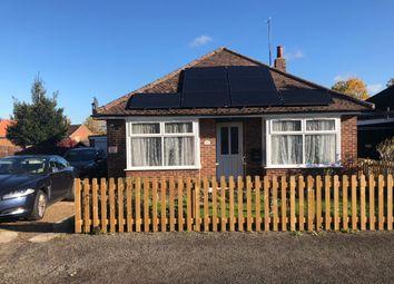 Thumbnail 4 bed detached bungalow for sale in Norman Road, Bury St. Edmunds
