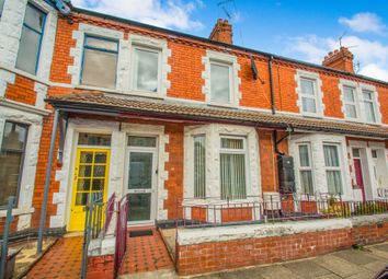 Thumbnail 3 bedroom terraced house for sale in Brunswick Street, Canton, Cardiff