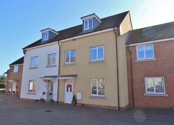 Thumbnail 4 bed terraced house for sale in Sheepwash Way, Longstanton, Cambridge