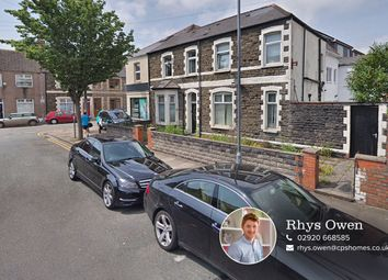 Thumbnail 4 bedroom end terrace house for sale in Richard Street, Cathays, Cardiff