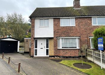 Thumbnail 3 bed semi-detached house for sale in Mayfield Drive, Burton-On-Trent, Staffordshire
