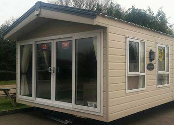 Thumbnail 2 bed mobile/park home for sale in Week Lane, Dawlish Warren, Dawlish