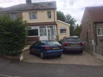 Thumbnail 3 bedroom semi-detached house for sale in Glenview Avenue, Bradford