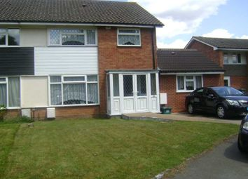 Thumbnail 4 bed semi-detached house to rent in Greenhill Way, Shirley, Solihull.