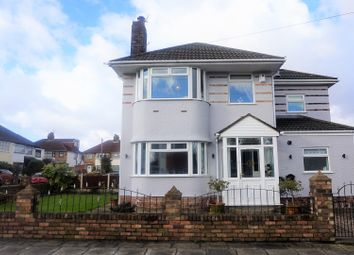 Thumbnail 4 bed semi-detached house for sale in Colindale Road, Liverpool