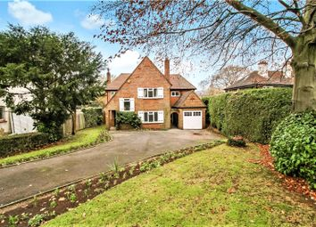 Thumbnail 4 bed detached house for sale in Westerham Road, Oxted