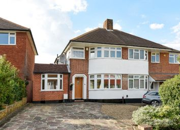 Thumbnail 4 bed semi-detached house for sale in Domonic Drive, London