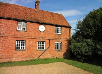 Thumbnail 3 bed farmhouse to rent in Royston Road, Buntingford