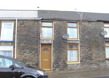 Thumbnail 3 bed terraced house for sale in Cemetery Road, Treorchy