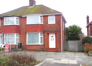 Thumbnail 3 bed semi-detached house to rent in Lonsdale Drive, Oakwood, Enfield