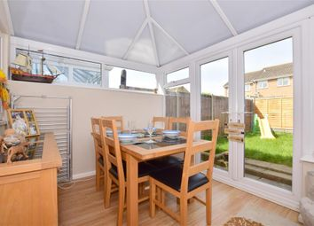 Thumbnail 3 bedroom terraced house for sale in Bates Close, Larkfield, Aylesford, Kent
