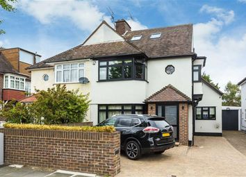 Thumbnail 4 bed semi-detached house for sale in Kenver Avenue, North Finchley, London
