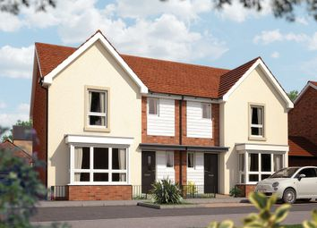"Thumbnail 3 bed semi-detached house for sale in ""The Epsom"" at Limousin Avenue, Whitehouse, Milton Keynes"