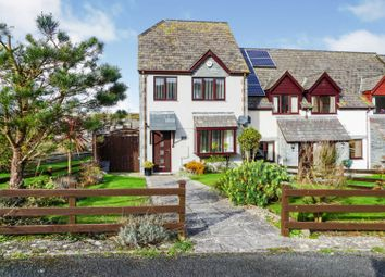 Thumbnail 3 bed end terrace house for sale in Clover Lane Close, Boscastle
