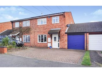 Thumbnail 3 bed semi-detached house for sale in Crows Nest Close, Sutton Coldfield
