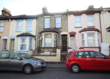 Thumbnail 3 bed terraced house for sale in Salisbury Road, Chatham