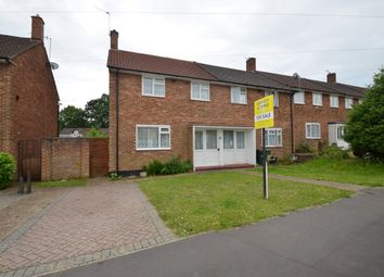 Thumbnail 2 bed end terrace house for sale in Bidhams Crescent, Tadworth