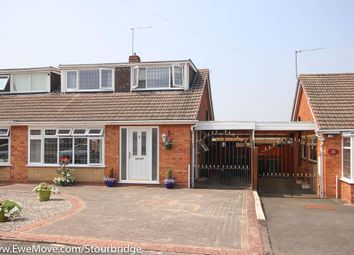Thumbnail 3 bed semi-detached bungalow for sale in Elmhurst Drive, Kingswinford