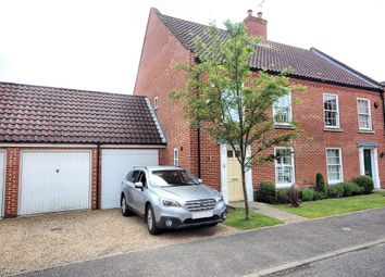 Thumbnail 3 bedroom semi-detached house for sale in Oaklands Crescent, Holt