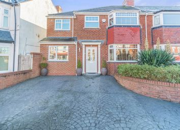 Thumbnail 4 bed semi-detached house for sale in Taylor Road, Kings Heath, Birmingham