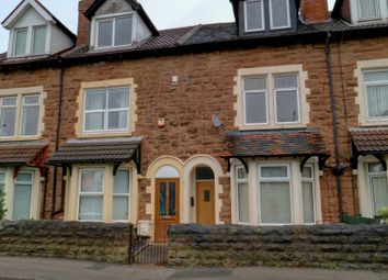 Thumbnail 3 bed terraced house for sale in Westfield Lane, Mansfield